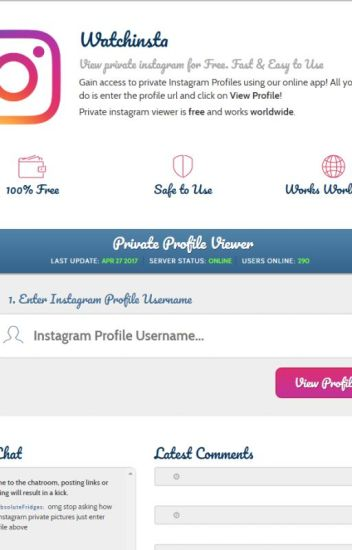 See Private Instagram Photos App