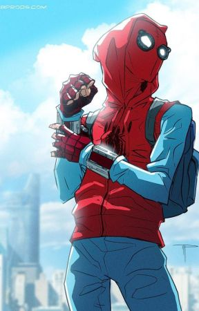 The Rose and the Webhead: Male Spider Man Reader X RWBY Ruby