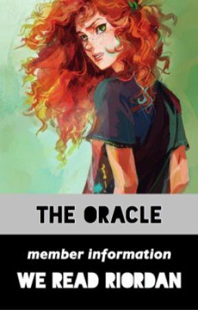 THE ORACLE ! by WeReadRiordan