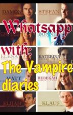 Whatsapp with the Vampire diaries by NANAAA8910