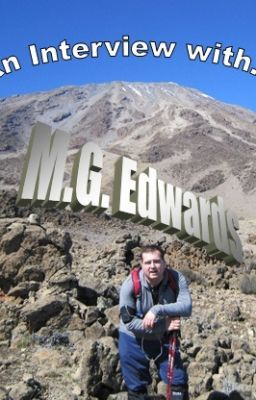 Superhero Author Interviews M.G. Edwards