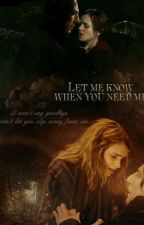 Let me know when you need me | Snamione by severus620