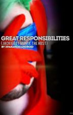 Great Responsibilities (Jackieboy Man x The Host) *5* by xParanoidAndroid