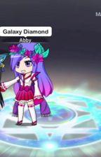 Galaxy Diamond x Abby_gachatuber by 0lives_61