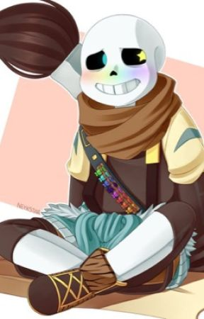 Ink!sans X reader - Art is so 'sketchy' XD (im sorry for the