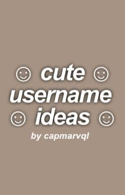Cute Username Ideas Lana Wattpad