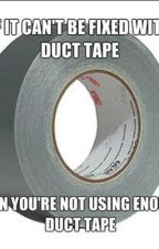 1,000 Ways Duct Tape Solves Everything by Brook_in_the_Meadow