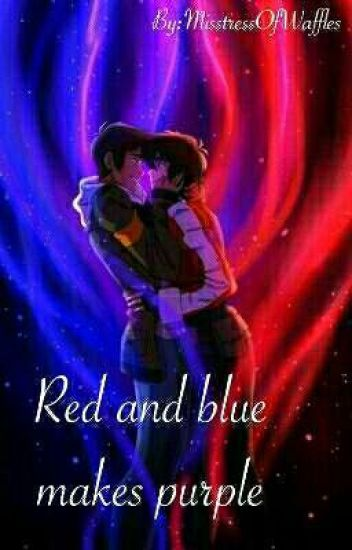 red and blue makes purple waffles wattpad