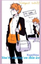 You're skating on thin ice   KageHina - Ice-skating AU by tnlr70