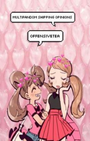×multifandom shipping opinions× by OffensiveTea