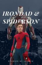 Oneshots Irondad and Spiderson by le7meg