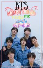 BTS MOMENTS THAT MAKE ME SMILE IN PUBLIC by HoranMajesty