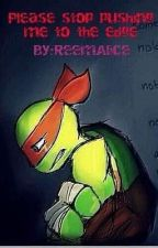{Tmnt 2012-mikey Depression}Please stop phishing me to the edge by ReemAlice