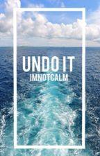 Undo it || Ashton Irwin by ImnotCALM