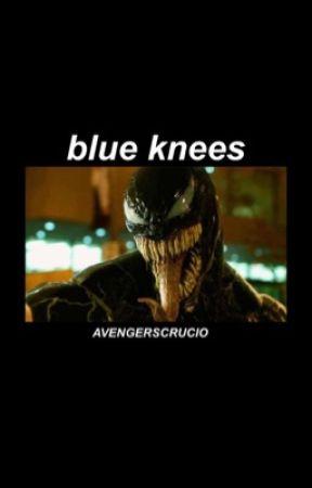 blue knees | Eddie Brock/Venom by geebeebo19