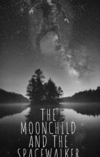 The moonchild and the spacewalker by sertyuiopaz