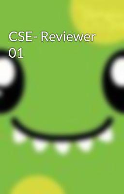 CSE- Reviewer 01