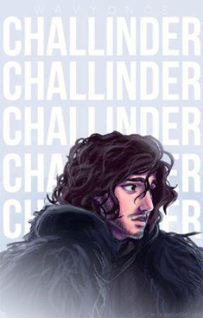 Challinder ▹ Jon Snow by wavyonce