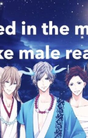 enchanted in the moonlight x uke male reader - Sleeping together