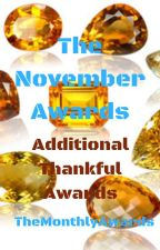 November Monthly Awards (Closed for 1 year) by TheMonthlyAwards
