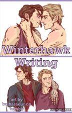 Winterhawk Writing by kawphy