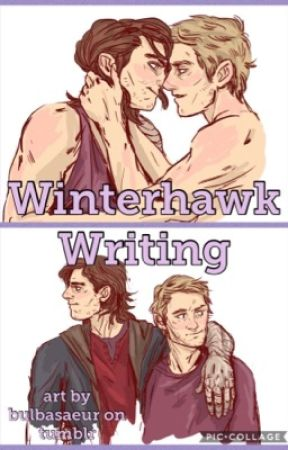 Winterhawk Writing by kawphy