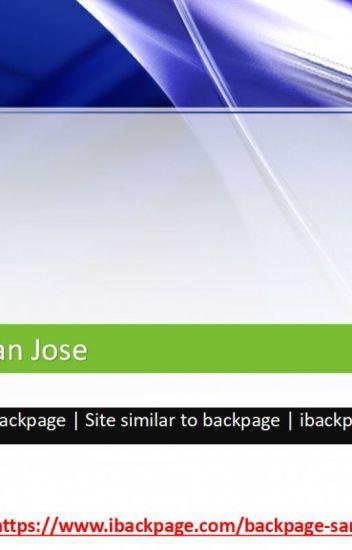 Backpage San Jose Alternative To Backpage