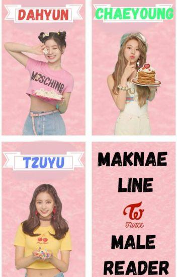 TWICE: Maknae Line x Male Reader