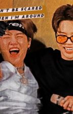 Don't be scared when I am around (yoonmin) by Christyflowerlove