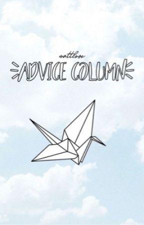 advice column  by wattlove-