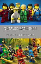 Ninjago Rankings by The_lightning_ninja