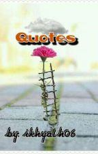 Quotes (Motivasi💞) by IkhyaLh06