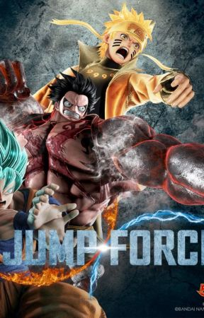 Jump Force Characters by DragonNote