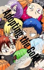 Adopting the GoM (Kuroko no Basket x Reader) by _alltimeknb
