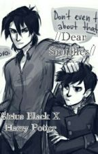 Dear Snuffles//Sirius Black X Harry Potter by http_huh