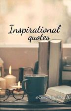 Inspiring quotations by CreativeWriter_16