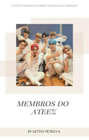 Membros do Ateez by ketiny_Petrova