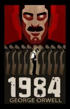 1984 George Orwell by DavideCaponi