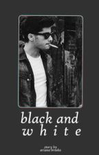 black and white » malik by bedstand