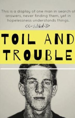 Toil and Trouble || Dylan Klebold by vodquilarebel