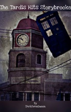 The Tardis Hits Storybrooke by D4rkSw4nQueen