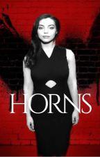 Horns|Natasha Romanoff|MCU & X-Men Crossover by Teenfallsgirl