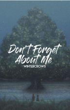Don't Forget About Me (Killua x Reader fan fiction) [RE-EDITED] by wintercrows