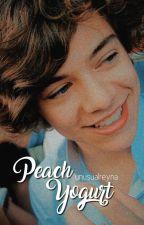 Peach Yogurt. { lwt + hes } { Omegaverse } { Traducción } by ilarry_12