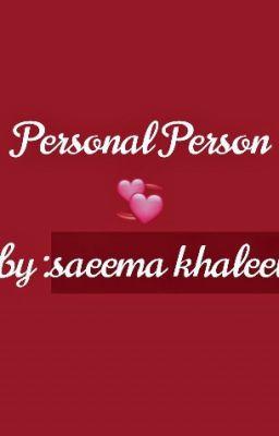Personal Person💞 -Hausa Novel - Maimuna Ibrahim - Wattpad