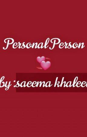 Personal Person💞 -Hausa Novel - ###6### - Wattpad
