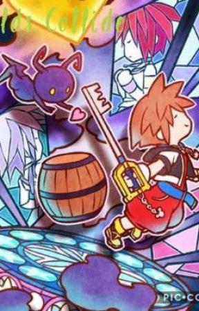 Worlds Collide [Kingdom Hearts] by vanreux