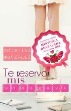 Te reservo mis derechos © Cristina González 2014//También disponible en Amazon. by aleianwow