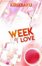 Week of Love. | Bakugou Katsuki x Kirishima Eijiro. #BNHAWeek2018 by Kirixbaku