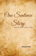 One Sentence Story by SanhcheataPrak